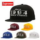 シュプリーム キャップ Supreme 帽子 WAY BACK 5-PANEL CAP ブラック ブルー カモフラ ホワイト SS16H46 【送料無料♪】 ギフト プレゼント 男性 女性 誕生日