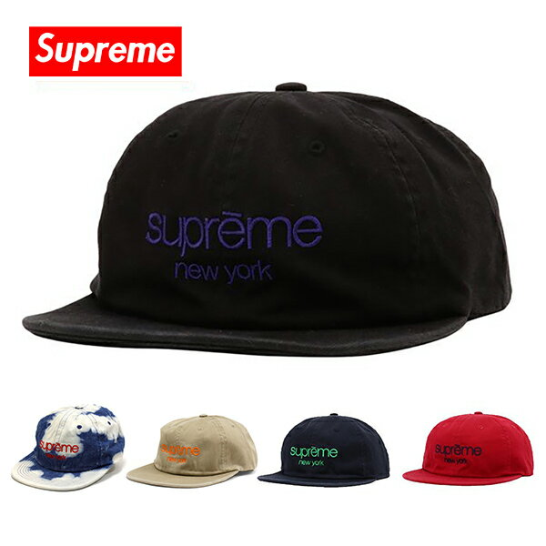 メンズ帽子, キャップ  Supreme SUPREME NEW YORK CAP SS16H56