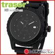 トレーサー 時計 メンズ 国内正規品 TRASER タイプ6 ミル-G オートマチック プロ 腕時計 NATOナイロン ウレタンラバー P6600 MIL-G Automa ALL Black