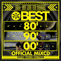 《送料無料/MIXCD/ENT-002》BEST80'90'00'OFFCIALMIXCD《洋楽MixCD/洋楽CD》《メーカー直送/正規品》