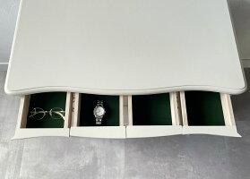 カンティーニュローチェスト猫脚家具白い家具クラシック家具収納ロココ調ラグジュアリーエレガント松永工房クラシックスタイルアンティーク調洋服タンスおしゃれ