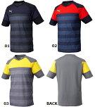 PUMA(プーマ)TTSPIRIT2SSトレーニングTEE654819サッカーシャツ半袖Tシャツプラクティス