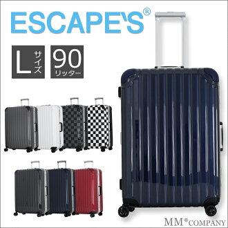 大行李箱 (大小 L) 90 L 垂直型幀 67 釐米約 6 天方向 8,免費檢查行李最大大小,1 年保修