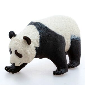 Giant panda big size figure soft vinyl model real animal goods summer vacation free study science