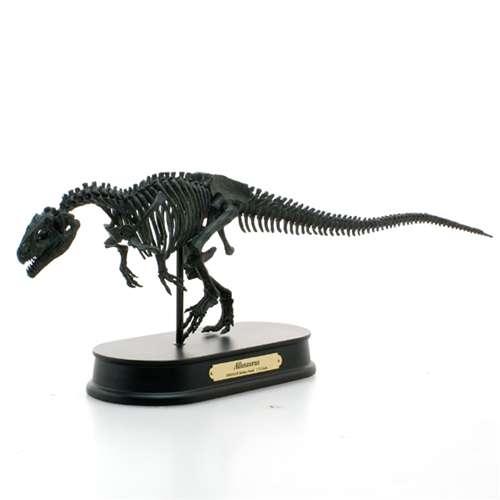 【取寄品】アロサウルスブラック最高峰スケルトンモデル恐竜グッズ骨格フィギュア夏休み自由研究理科