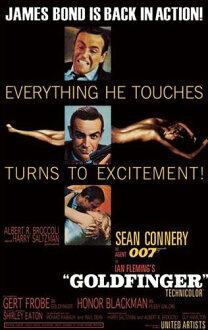 007系列黄金手指PPC-096電影海報室內裝飾商品電影POSTER