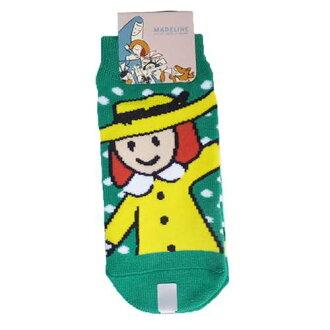 [小孩短襪]供綠色的瑪德琳蛋糕小孩使用的襪子小行星13-18cm kyarakkusutinzu雜貨郵購[郵件班次可][明天輕鬆]棉花糖pop