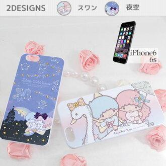 Kiki & 拉拉小雙星星 iPhone6s 例三麗鷗絕交 iPhone 封面可愛的青少年雜貨店棉花糖持久性有機污染物