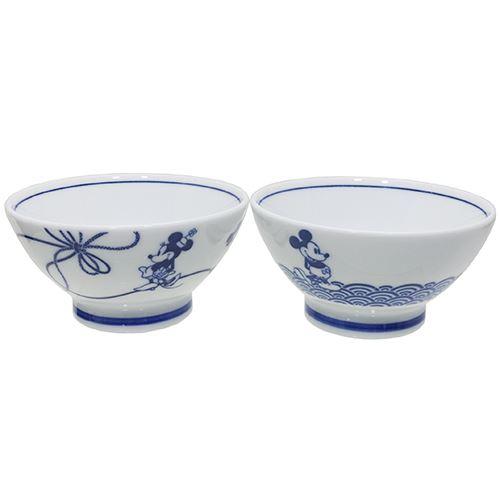 三郷陶器『ミッキー&フレンズ食器ギフトセットペア茶碗セット』