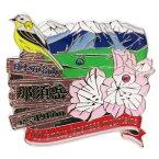 1段 ピンズ 那須岳 日本百名山 ピンバッジ エイコー コレクションケース入り トレッキング 登山グッズ メール便可 マシュマロポップ
