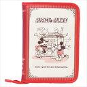 片面ジャバラマルチケース ブック型 ミッキー & ミニー 母子手帳ケース ディズニー ママ 雑貨 ティーンズ ジュニア メール便可 マシュマロポップ