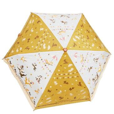 折りたたみ傘 キュート チップ & デール 折畳傘 ディズニー タキヒヨー 53cm 雨具 ティーンズ ジュニア マシュマロポップ