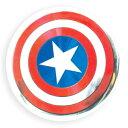 缶ミラー キャプテンアメリカ 手鏡 マーベル ティーズファクトリー ミニミラー コスメ 雑貨 ティーンズ ジュニア メール便可 マシュマロポップ