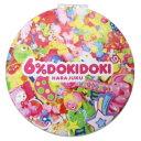 【コンパクト ダブル ミラー】 ピンク 手鏡 6%DOKIDOKI 松尾繊維工業 メイク直し 原宿系 ファッションブランドグッズ通販【メール便可】【あす楽】マシュマロポップ