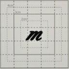 【スワロフスキー20個付イニシャルシール】(スマホ スマフォ オリジナル&プリントケース・カバー)小文字BK(小)m