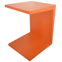 サイドテーブルMDF【mmisオリジナルコの字型サイドテーブル全3色鏡面塗装仕上げ316-S-05】【即納可能】