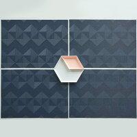 QuiltedRectangleColor:Tuxedo/Inkchilewichチルウィッチレクタングル約36cm×48cmmmisオススメ家族と暮らす住み心地のいい家