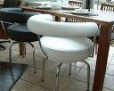 LC7 回転椅子革Cグレードデザイナーズ家具 イタリア製選べる革カラー 冬のインテリア 暖かい部屋 お客様へのおもてなし