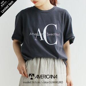 "<span class=""title"">【2021SS】AMERICANA アメリカーナ ""AC""ロゴTシャツ AMGB-2107 他をご紹介します。</span>"