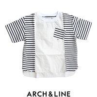 【2018SS】【kids】ARCH&LINEアーチアンドラインフレアコンビシャツAL811343【RCP】