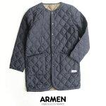 【2019AW】【送料無料】ARMENアーメンノーカラーコートNAM1651PP【RCP】