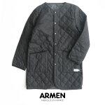 【2019AW】【送料無料】ARMENアーメンノーカラーコートNAM1651WJ【RCP】
