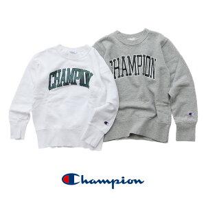 【40%★OFF】【kids】Champion チャンピオン print sweat カレッジロゴプリントスウェット CS6225【RCP】