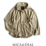 【2017AW】【送料無料】MICA&DEALマイカアンドディールカシュクールシャツM17D163【RCP】