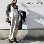 【2020AW】MICA&DEALマイカアンドディールサテンキャミドレス0120404245【RCP】