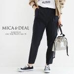 【2021SS】MICA&DEAL【カラー別注】マイカアンドディールタックテーパードパンツ0121103040【RCP】