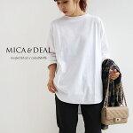 【2021AW】MICA&DEAL×MMN【別注カラー】マイカアンドディールヘムラウンドプルオーバー0121309140【RCP】