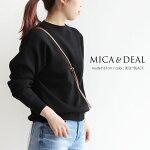 【2021SS】MICA&DEAL×MMN【カラー別注】マイカアンドディールモックネックプルオーバー0121108013【RCP】