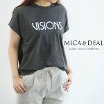 【2019SS】【送料無料】MICA&DEALマイカアンドディールプリントTシャツM19A003【RCP】