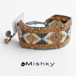 【2017SS】MishkyミシュキーワイドビーズコードブレスレットRays-LE-M-2891【RCP】