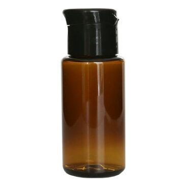 ecoペットボトル50ml+ワンタッチキャップ/1個化粧水 トナー 容器 茶色 詰め替え 容器 アトマイザー 手作り コスメ 化粧品 化粧水 アルコール 用