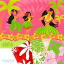 モアナ ハワイアンジュエリーで買える「ハワイアン メッセージカード フラ ティアレ ハイビスカス ホヌ ハワイアンジュエリー グリーティングカード」の画像です。価格は110円になります。