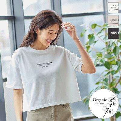 オーガニックコットンクロップドTシャツ