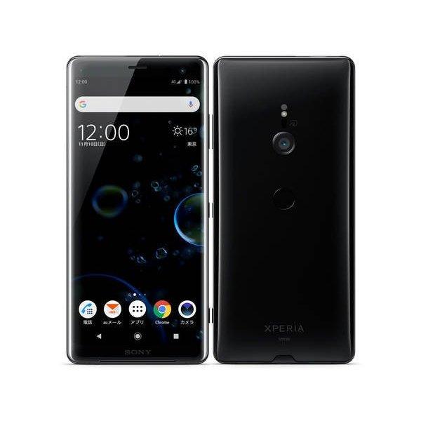 au SOV39 本体 Xperia XZ3 SIMフリー 新品未使用 正規SIMロック解除済 ブラック Black 一括購入...