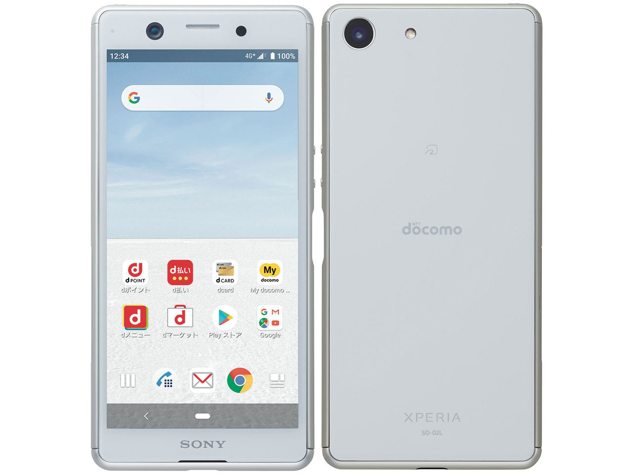 docomo SO-02L Xperia Ace SIMフリー 本体 新品未使用 正規SIMロック解除済み ホワイト White 白...