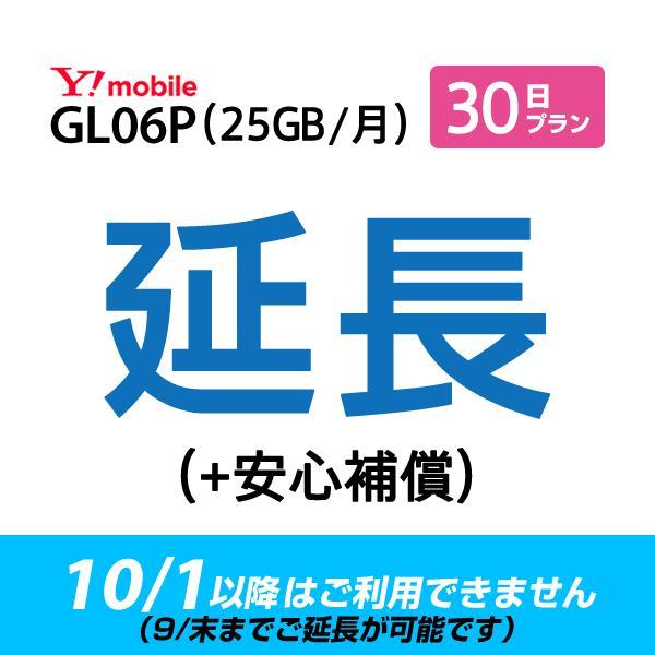 (9月末までご延長可能) GL06P_30日延長専用(+安心補償) wifiレンタル 延長申込 専用ページ 国内wifi 30日プラン