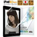 iPad 10.2 第7世代 2019 ペーパーライク フィルム アンチグレア 反射低減 非光沢 日本製 保護フィルム 【失敗時 フィルム無料交換】【定形外】 IPD102PLK 422 ゆうパケ