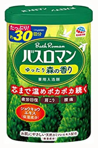 バスロマン ゆったり森の香り / 600g / 森の香り