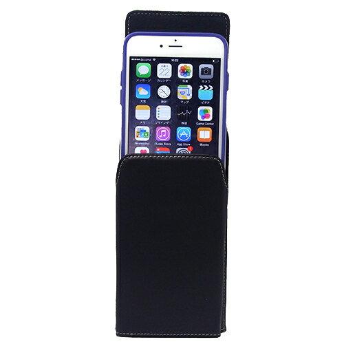 【iPhone6Plus/iPhone6sPlus用縦型】カバーケース/ホルダー/ベルトケース/ベルトポーチiPhoneケース回転式ベルトクリップ付レザーケース(合皮)forBiz(ビジネス)ASDEC(アスデック)【あす楽】