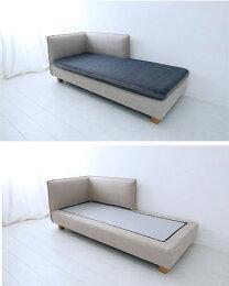 ソファソファーリビングカウチソファコーナーソファカバーリングファブリックモビリグランデMコレクションクッション付きカバーリングソファFUTONSOFAグレーコーナータイプ(向かって右側)0142-sf-mg40-couch-l