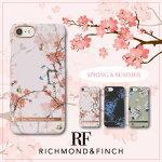 【日本総代理店】【2017SS最新】RICHMOND&FINCHR&Fリッチモンドアンドフィンチ2017春夏コレクションiPhone7iPhone6/6sチェリーブラッシュフラワーデザインSatinサテンケース