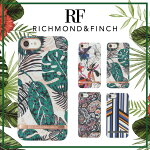 【日本総代理店】【2017SS最新】RICHMOND&FINCHR&Fリッチモンドアンドフィンチ2017春夏コレクションiPhone7iPhone6/6sトロピカル&ボタニカルSatinサテンケース