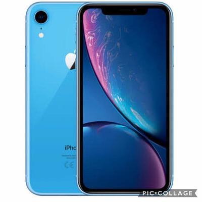 【新品未使用品】iPhone xr 64GB blue simフリー(白ロム品)赤ロム永久保証