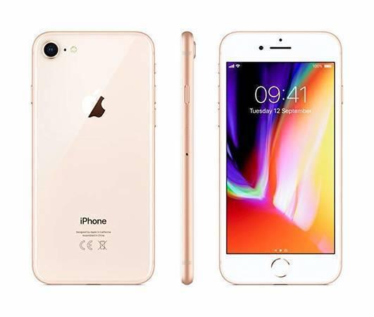 【新品未使用品】iphone8 simフリー 64GB Gold 赤ロム永久保証(白ロム品)