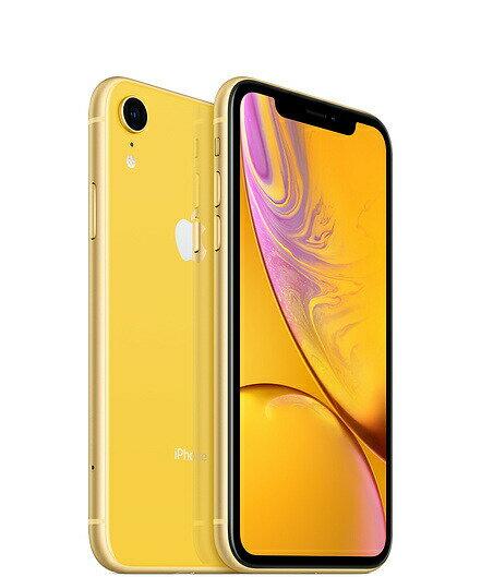【新品未使用品】iphoneXR simフリー 64GB イエロー 赤ロム永久保証(白ロム品)