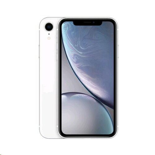 【新品未使用品】iphoneXR simフリー128GB White 赤ロム永久保証(白ロム品)